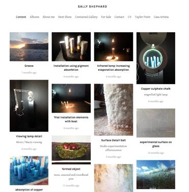 Sally's Website